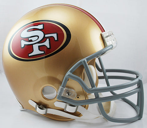 San Francisco 49ers Riddell Authentic Pro Line Helmet