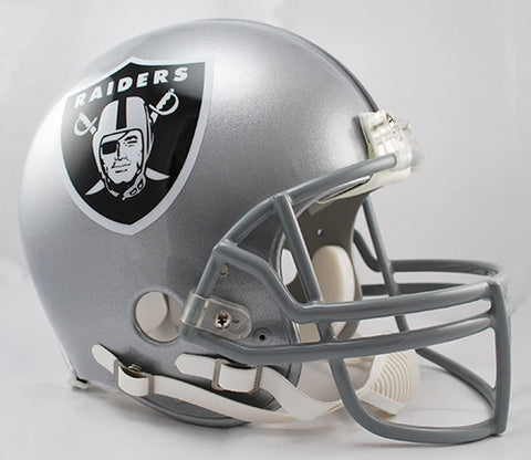 Oakland Raiders Riddell Authentic Pro Line Helmet