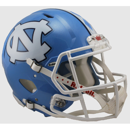 North Carolina Tar Heels Riddell Authentic Speed Helmet