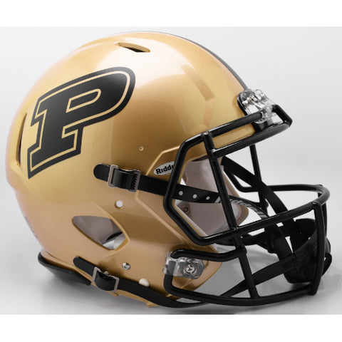 Purdue Boilermakers Riddell Authentic Speed Helmet