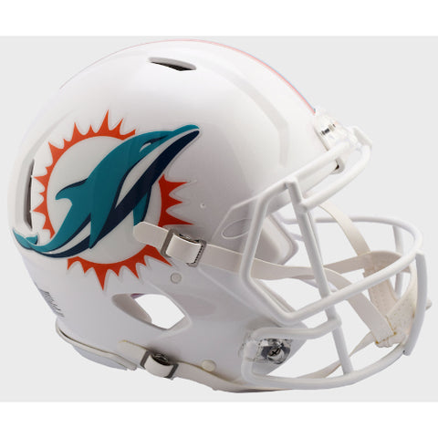 Miami Dolphins Riddell Authentic Speed Helmet