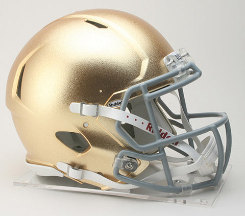 Notre Dame Fighting Irish Riddell Authentic Speed Helmet - HydroSkin