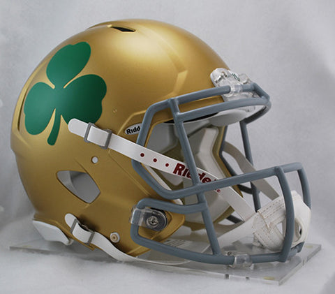 Notre Dame Fighting Irish Riddell Authentic Speed Helmet - Shamrock