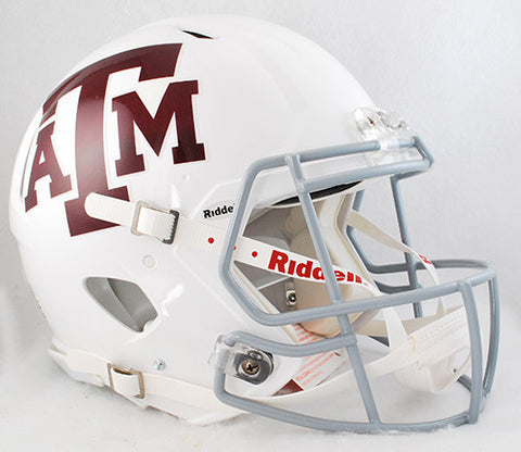 Texas A&M Aggies Riddell Authentic Speed Helmet - White