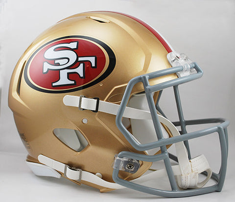 San Francisco 49ers Riddell Authentic Speed Helmet