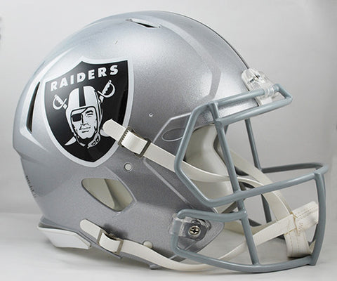 Oakland Raiders Riddell Authentic Speed Helmet