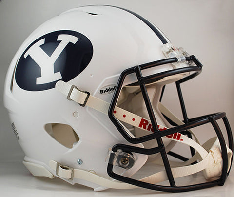 BYU Cougars Riddell Authentic Speed Helmet