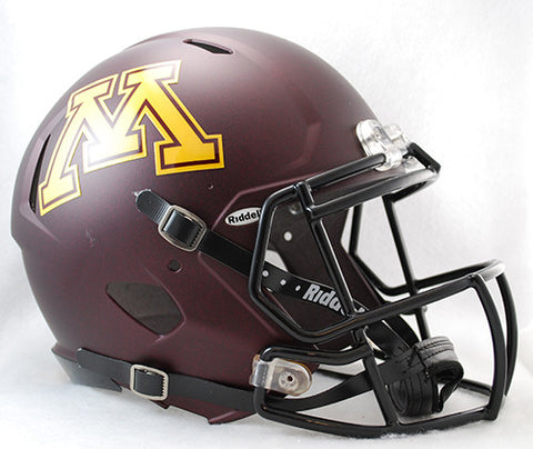 Minnesota Golden Gophers Riddell Authentic Speed Helmet