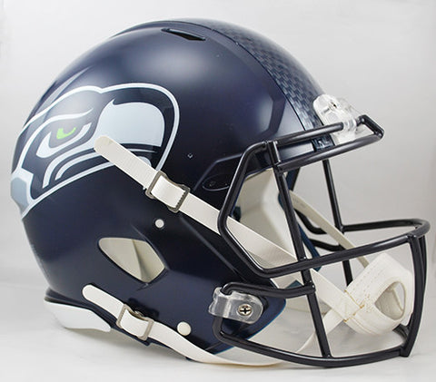 Seattle Seahawks Riddell Authentic Speed Helmet