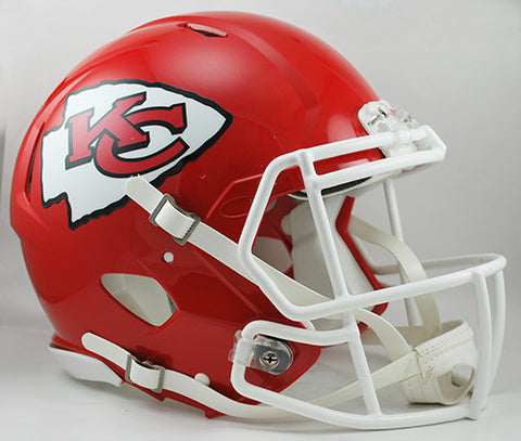 Kansas City Chiefs Riddell Authentic Speed Helmet