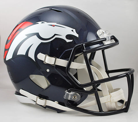 Denver Broncos Riddell Authentic Speed Helmet