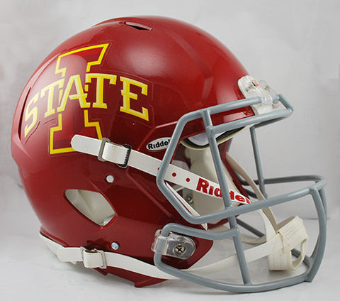 Iowa State Cyclones Riddell Authentic Speed Helmet