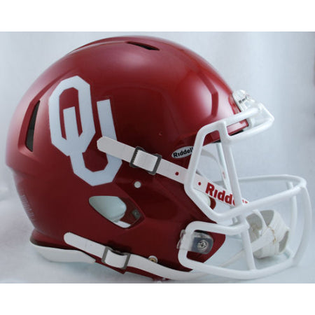 Oklahoma Sooners Riddell Authentic Speed Helmet