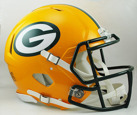 Green Bay Packers Riddell Authentic Speed Helmet