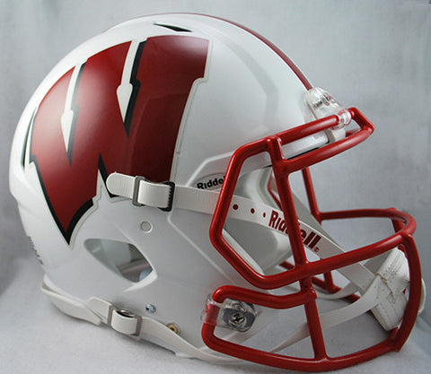 Wisconsin Badgers Riddell Authentic Speed Helmet