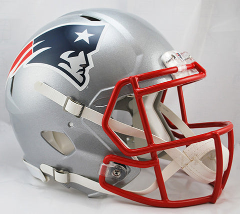 New England Patriots Riddell Authentic Speed Helmet