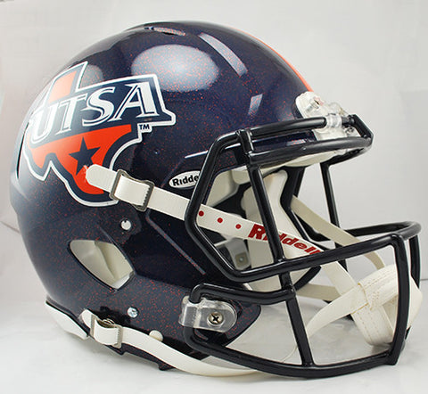 Texas San Antonio Roadrunners Riddell Authentic Speed Helmet