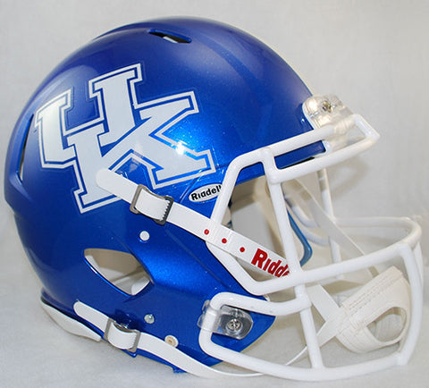 Kentucky Wildcats Riddell Authentic Speed Helmet