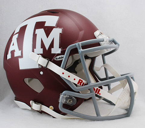 Texas A&M Aggies Riddell Authentic Speed Helmet