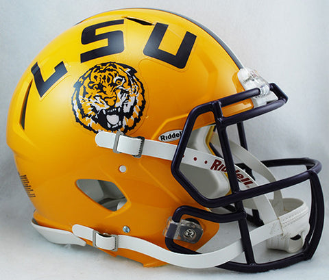 LSU Tigers Riddell Authentic Speed Helmet