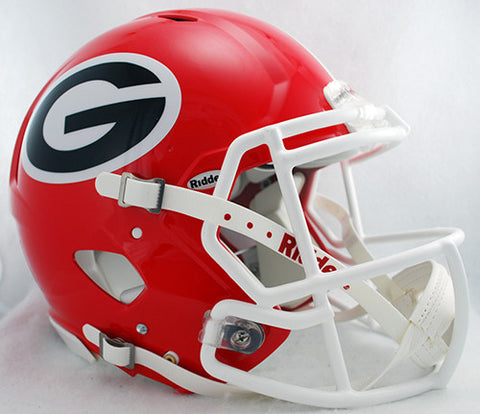 Georgia Bulldogs Riddell Authentic Speed Helmet