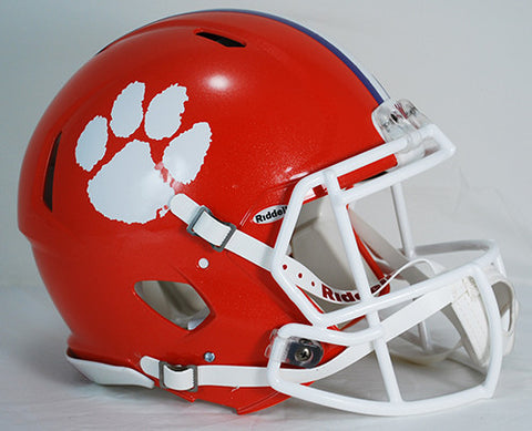 Clemson Tigers Riddell Authentic Speed Helmet