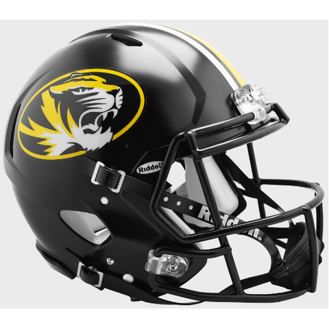 Missouri Tigers Riddell Authentic Speed Helmet