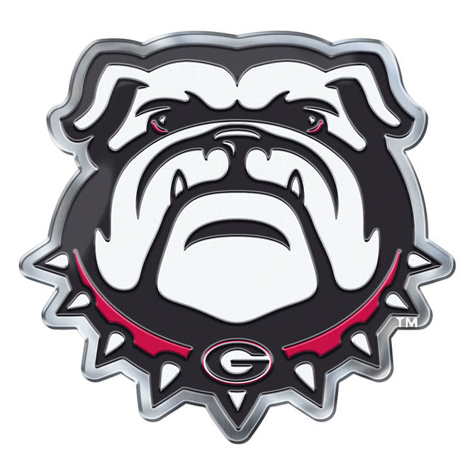 Georgia Bulldogs Die Cut Color Auto Emblem - Alternate Logo
