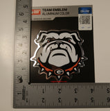 Georgia Bulldogs Die Cut Color Auto Emblem - Alternate Logo 2