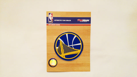 Golden State Warriors Die Cut Color Auto Emblem