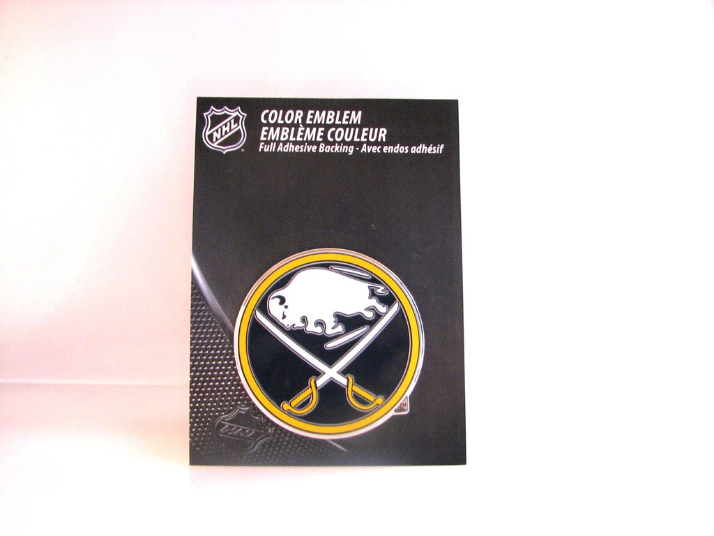 Buffalo Sabres Die Cut Color Auto Emblem