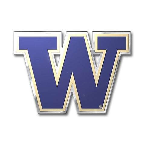 Washington Huskies Die Cut Color Auto Emblem