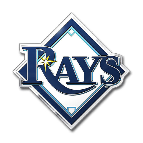 Tampa Bay Rays Die Cut Color Auto Emblem