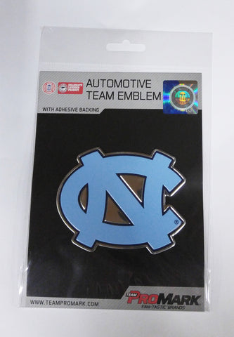 North Carolina Tar Heels Die Cut Color Auto Emblem