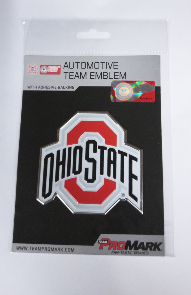 Ohio State Buckeyes Die Cut Color Auto Emblem