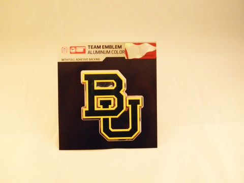 Baylor Bears Die Cut Color Auto Emblem