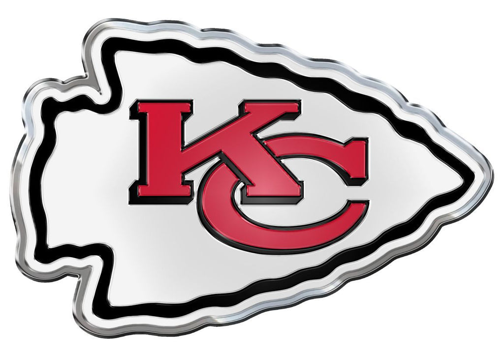 Kansas City Chiefs Die Cut Color Auto Emblem