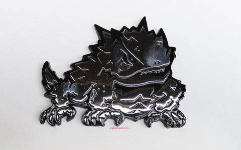 TCU Horned Frogs Premium Metal Auto Emblem