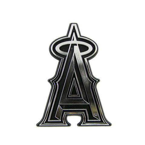 Los Angeles Angels Die Cut Silver Auto Emblem