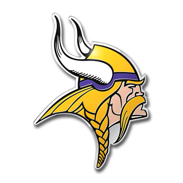 Minnesota Vikings Die Cut Color Auto Emblem