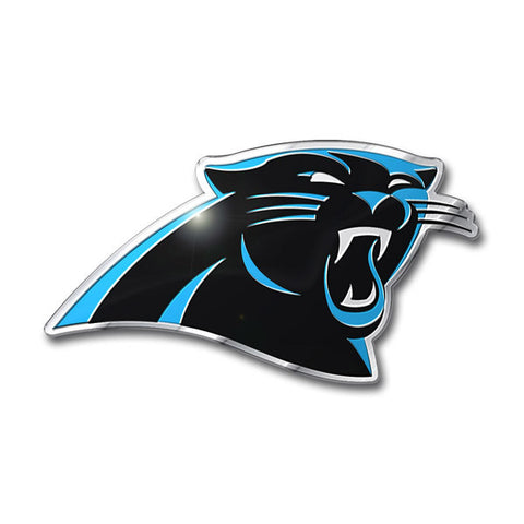 Carolina Panthers Die Cut Color Auto Emblem