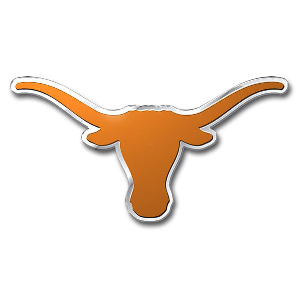 Texas Longhorns Die Cut Color Auto Emblem
