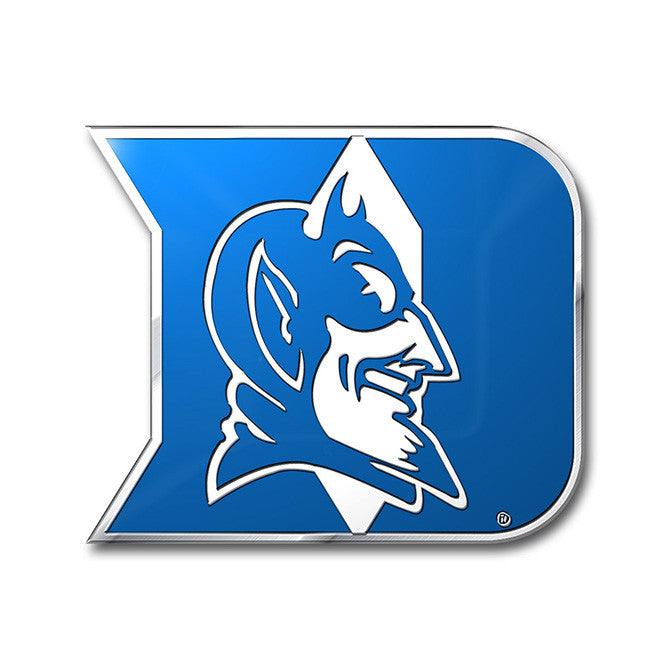 Duke Blue Devils Die Cut Color Auto Emblem