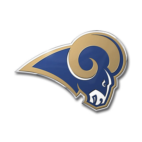 Los Angeles Rams Die Cut Color Auto Emblem