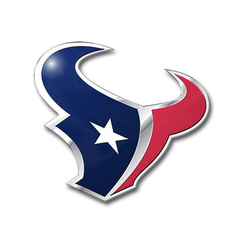 Houston Texans Die Cut Color Auto Emblem