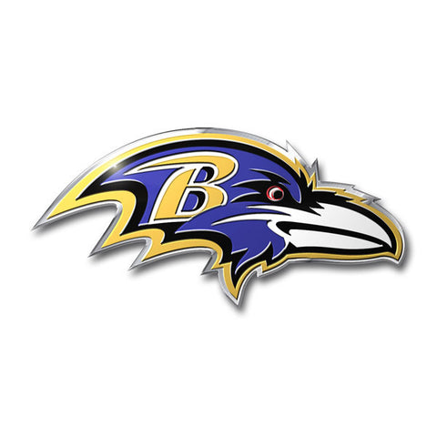 Baltimore Ravens Die Cut Color Auto Emblem