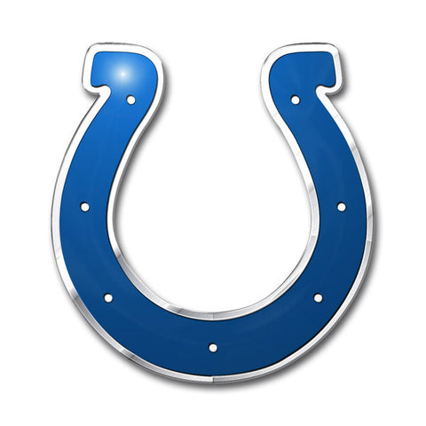 Indianapolis Colts Die Cut Color Auto Emblem