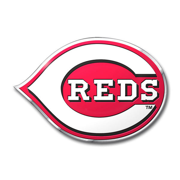 Cincinnati Reds Die Cut Color Auto Emblem
