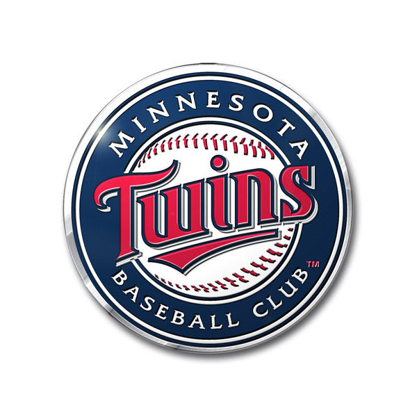 Minnesota Twins Die Cut Color Auto Emblem