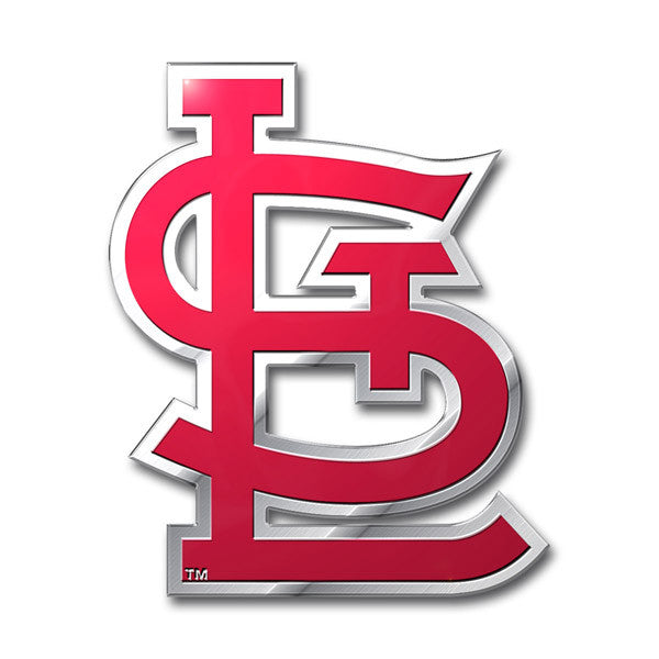 St. Louis Cardinals Die Cut Color Auto Emblem